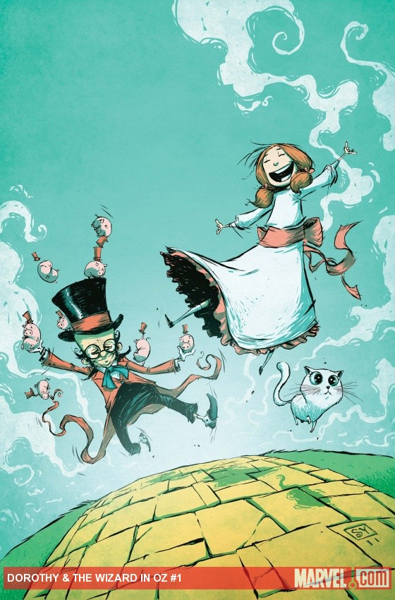 Cover of Dorothy and the Wizard in Oz #1