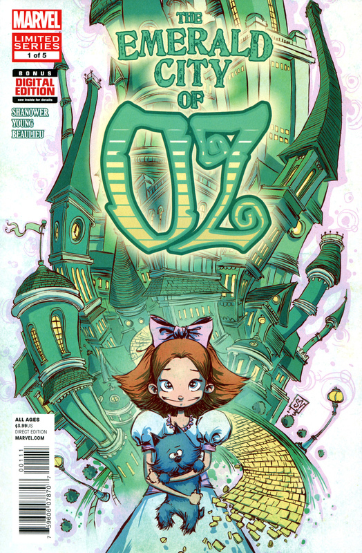 Cover of The Emerald City of Oz #1
