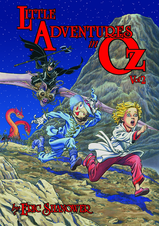 Cover of Little Adventures in Oz, volume 2